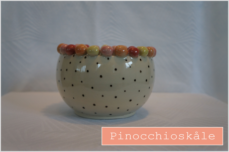 Pinocchioskåle keramiknissen