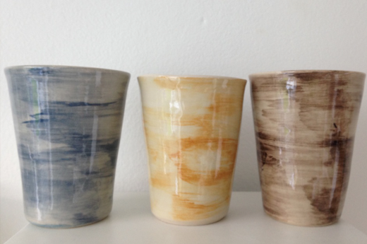 Kopper fra keramiknissen