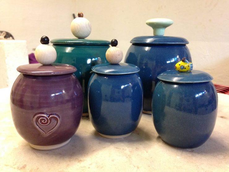 keramik krukker