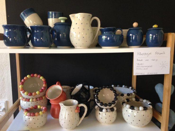 Keramiknissen udstilling på Cafe Solo