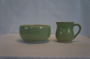 Keramiknissen børnesæt grøn