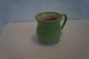 grøn kop oppe