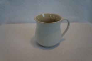 hvid kop oppe